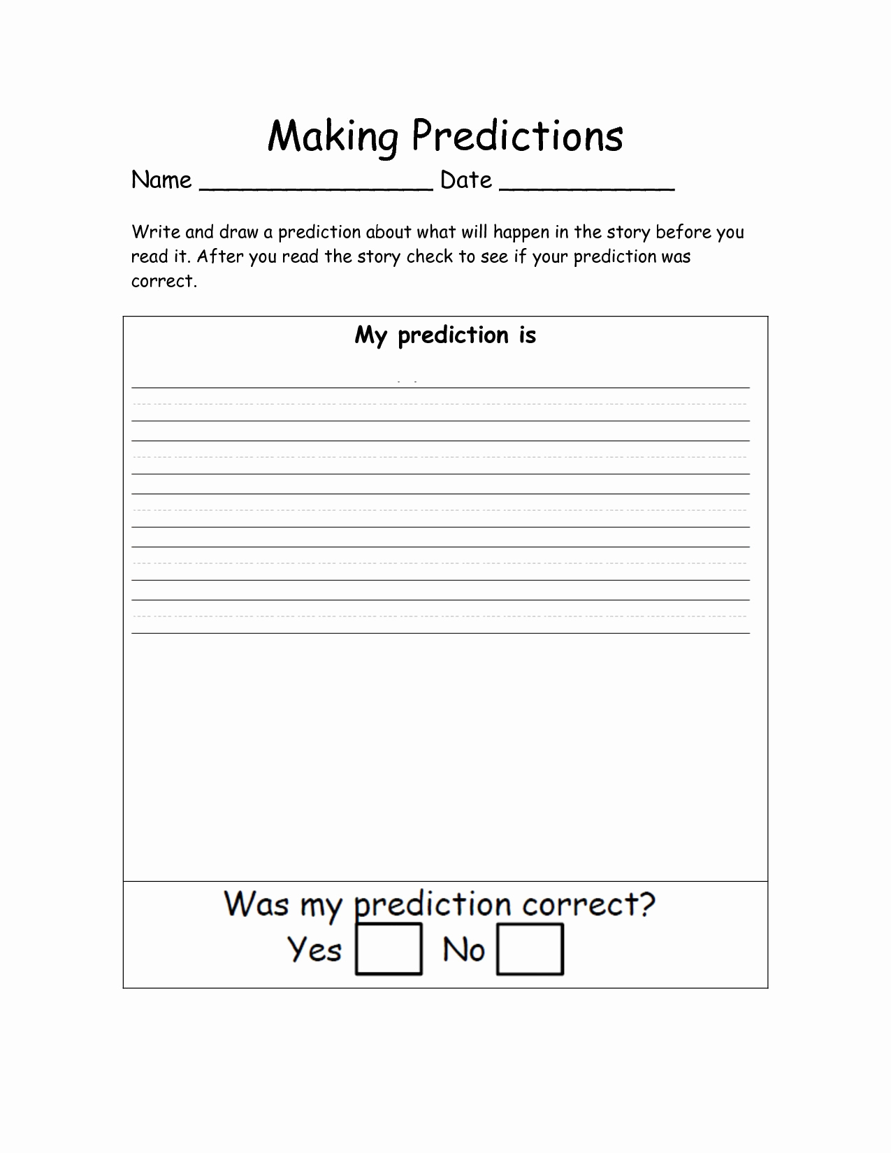 Making Predictions Worksheets 2nd Grade Lovely 20 Making Predictions Worksheet 2nd Grade