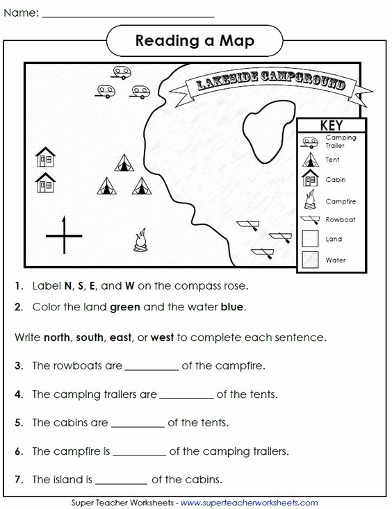 Map Scale Worksheet 4th Grade Unique Check Out This Worksheet From Our Map Skills Page to Help