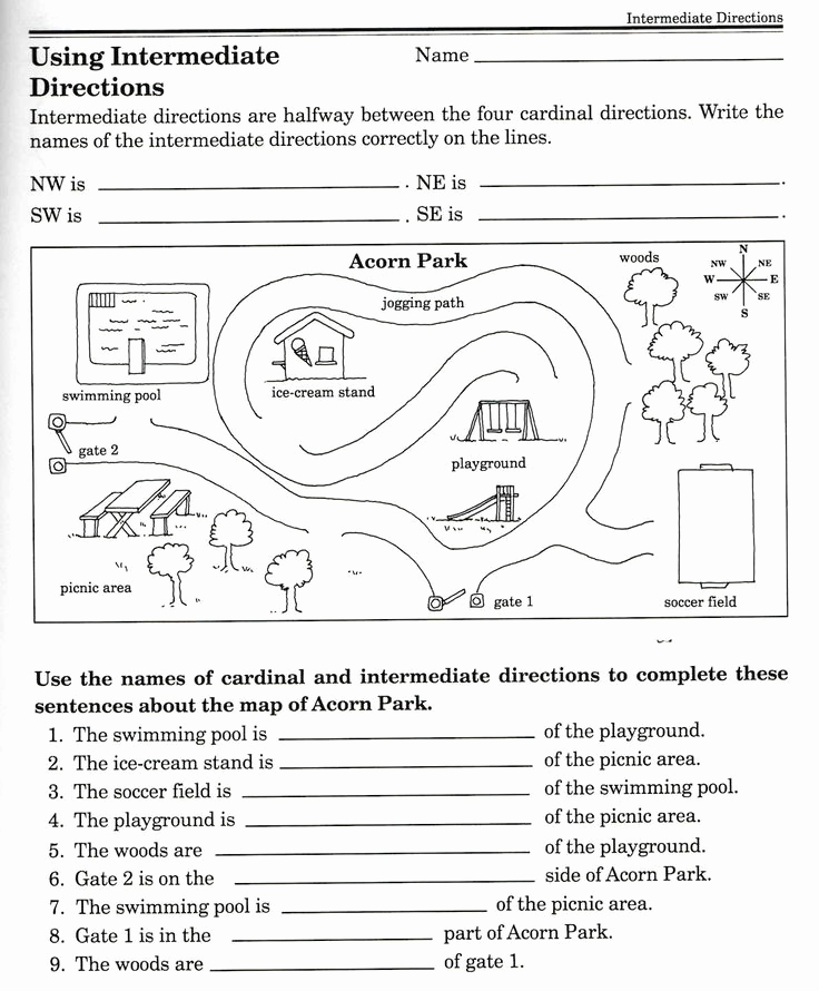 Map Skills Worksheets Answers Awesome 3rd Grade Economics Worksheet 3rd Grade French Worksheets