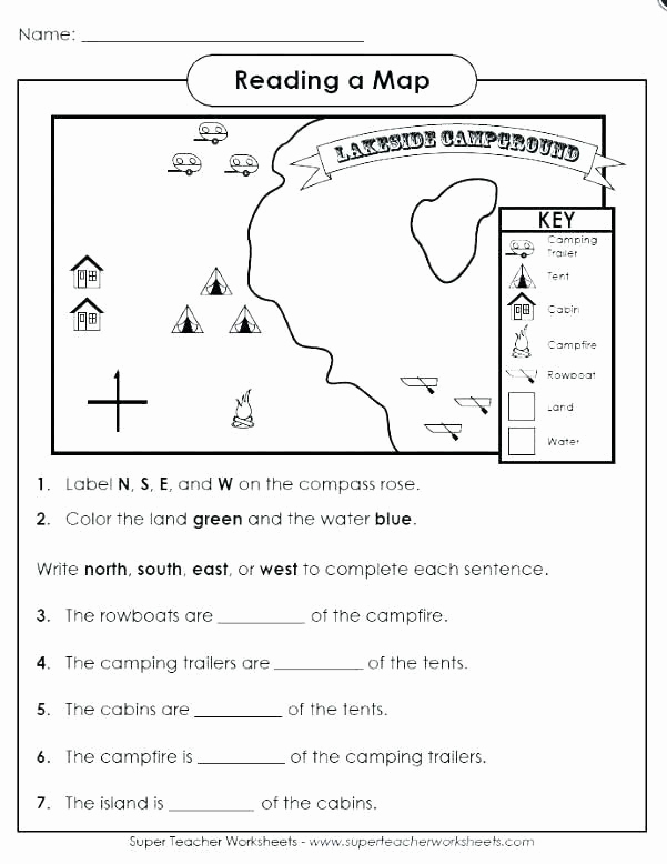 Map Skills Worksheets Answers Awesome Pin On Printable Blank Worksheet Template