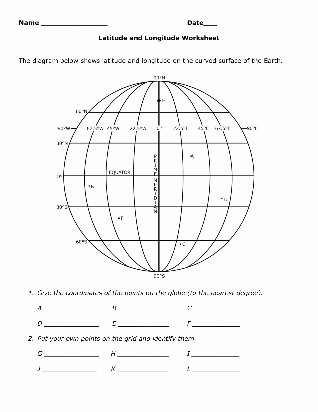 Map Skills Worksheets Answers Luxury Geography Map Skills Worksheets Skills Worksheet Map
