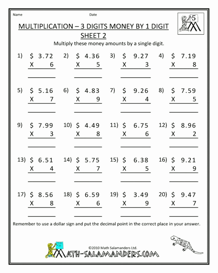 Math Coloring Worksheets 7th Grade Unique Math Worksheets Free Printable 7th Grade Di 2020