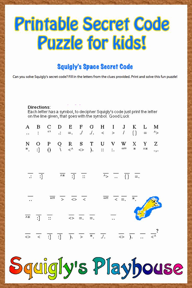 Math Secret Code Worksheets Unique Crack the Code Worksheets Printable Free