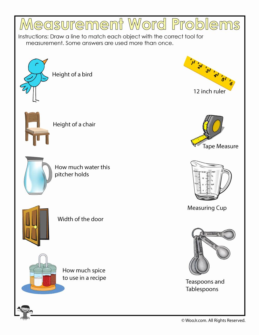 Measurement Estimation Worksheets Elegant How to Measure Worksheet