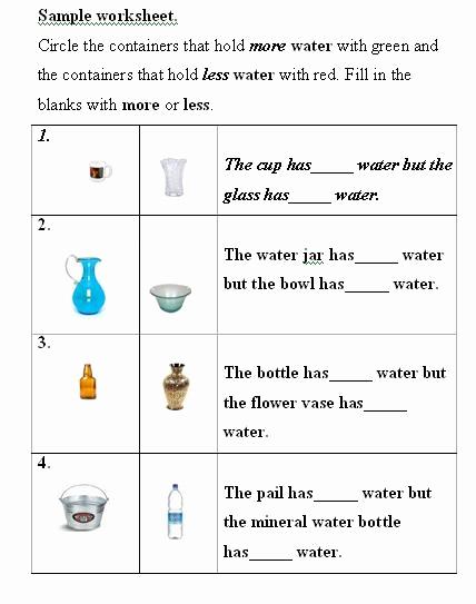 Measurement Volume Worksheets Inspirational Water Volume Measurement Liquid Volume Measurement