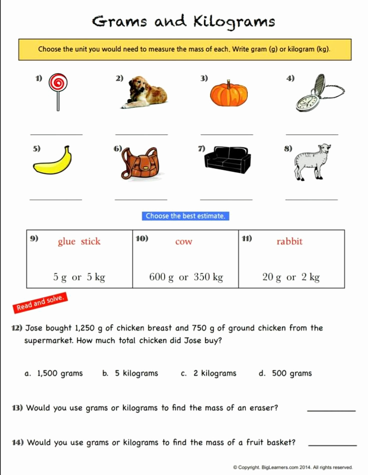 Measuring Worksheets for 3rd Grade Unique Pin On 3rd Grade Math Measurement Activities