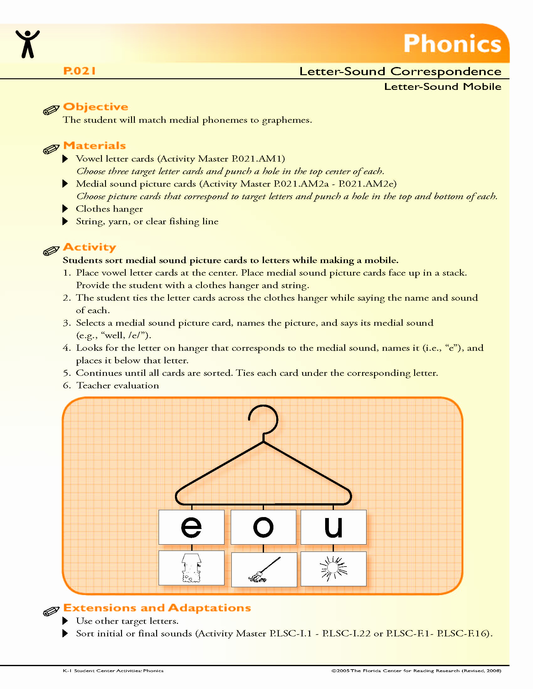 Medial sounds Worksheets First Grade Best Of the Student Will Match Medial Phonemes to Graphemes