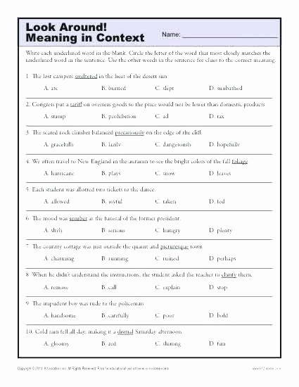 Middle School Inference Worksheets Fresh Middle School Inference Worksheets