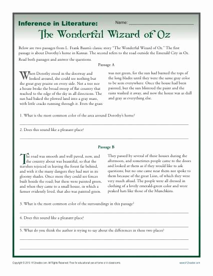 Middle School Inference Worksheets Lovely Making Inferences Worksheets Middle School Example