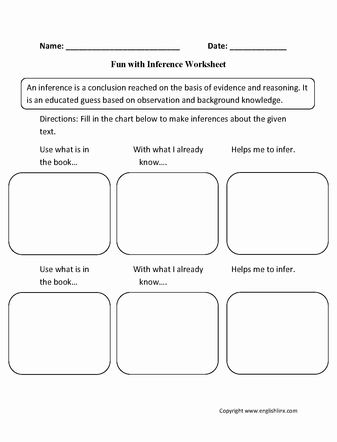 Middle School Inference Worksheets Unique Worksheet Inference Worksheets Middle School Grass Fedjp