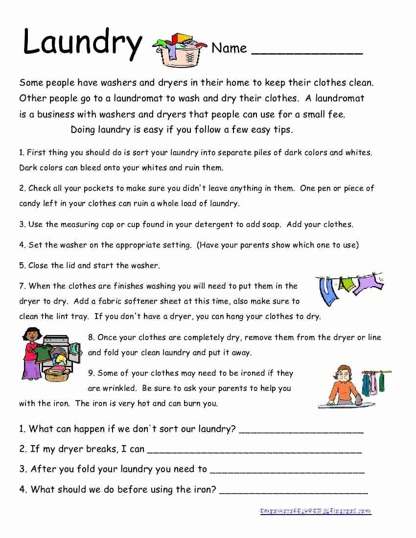Middle School Life Skills Worksheets Lovely Professionally 20 Middle School Life Skills Worksheets
