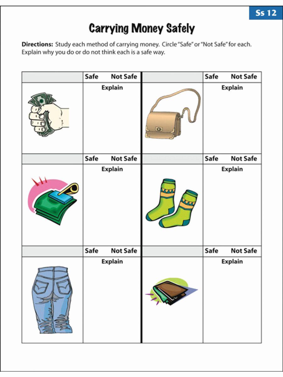 Middle School Life Skills Worksheets Luxury Professionally 20 Middle School Life Skills Worksheets