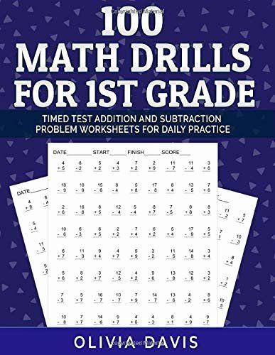Minute Math Worksheets 1st Grade Beautiful Minute Math Worksheets 1st Grade 100 Math Drills for 1st