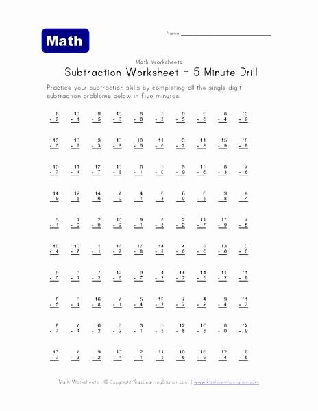 Minute Math Worksheets 1st Grade Luxury 70 1 Minute Math Worksheets 1st Grade Kidworksheet