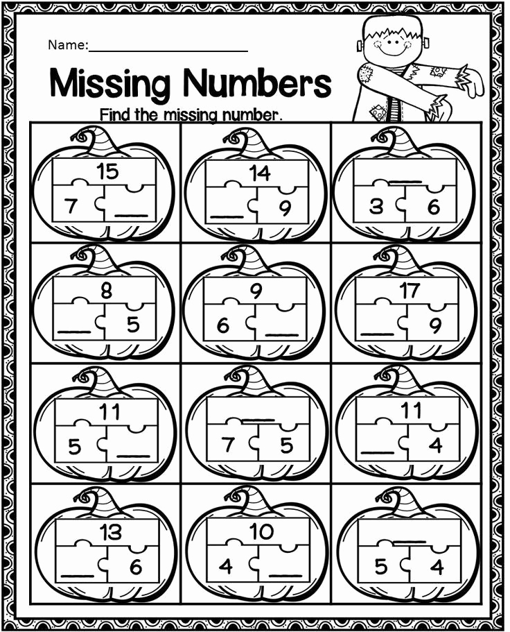Missing Addend Worksheets Kindergarten Lovely Missing Addend Worksheets Kindergarten Homophones and