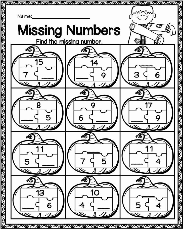 Missing Addend Worksheets Kindergarten Lovely Missing Addend Worksheets Kindergarten Homophones and