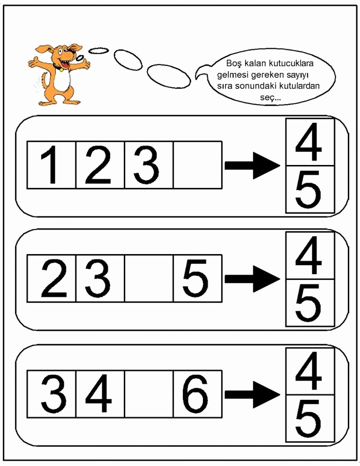 Missing Number Worksheets 1 10 Awesome Missing Number Worksheet for Kids 1 10