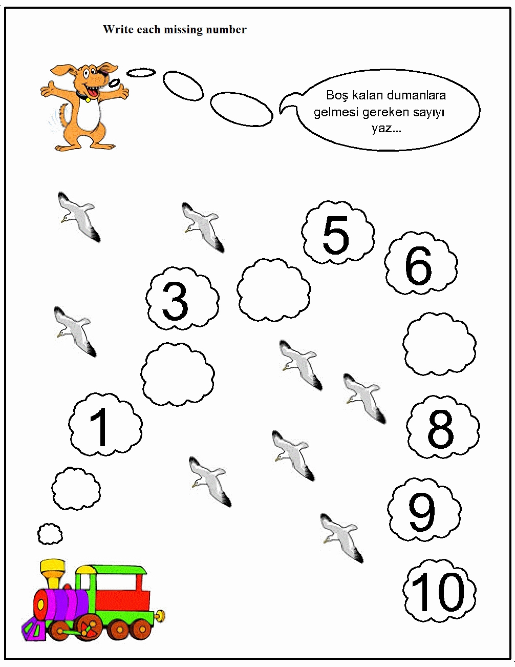 Missing Number Worksheets 1 10 Lovely Crafts Actvities and Worksheets for Preschool toddler and