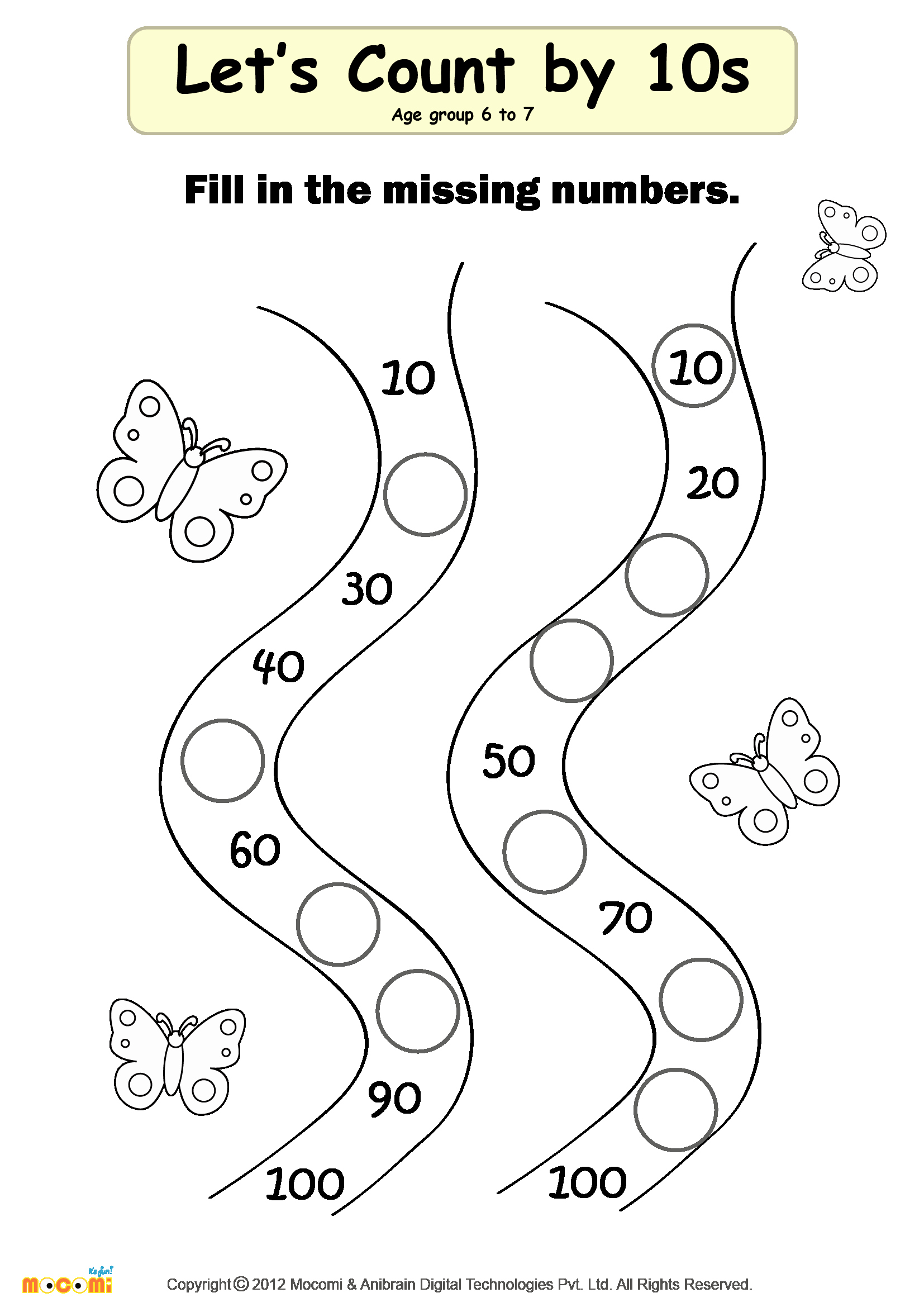 Missing Number Worksheets Kindergarten Fresh Missing Numbers Worksheet 02 Math for Kids
