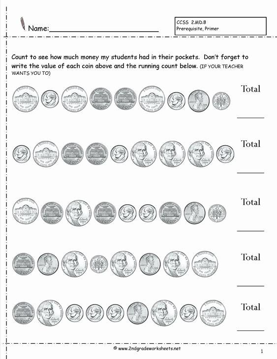 Money Worksheets 3rd Grade Lovely 3rd Grade Printable Worksheets