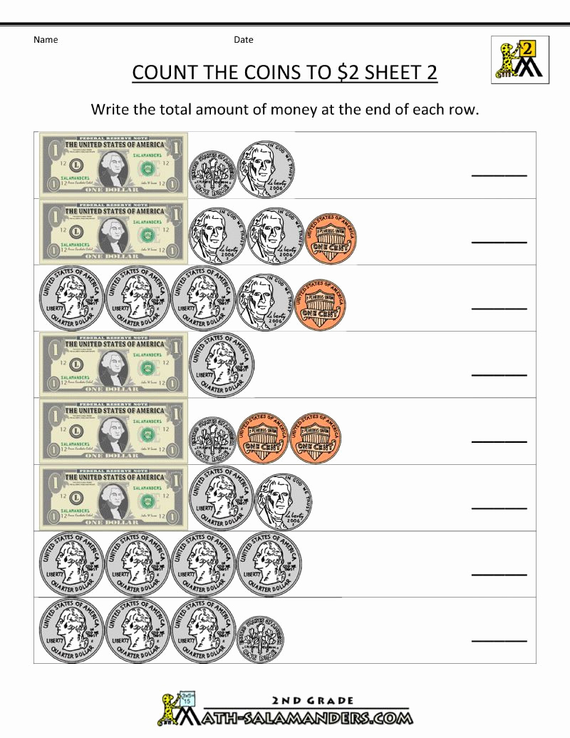 Money Worksheets 3rd Grade Luxury 20 Money Worksheets 3rd Grade