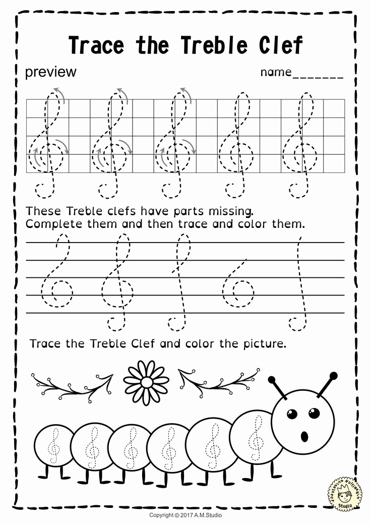 Music theory Worksheet for Kids Luxury A Set Of 20 Spring themed Music Worksheets is Created to