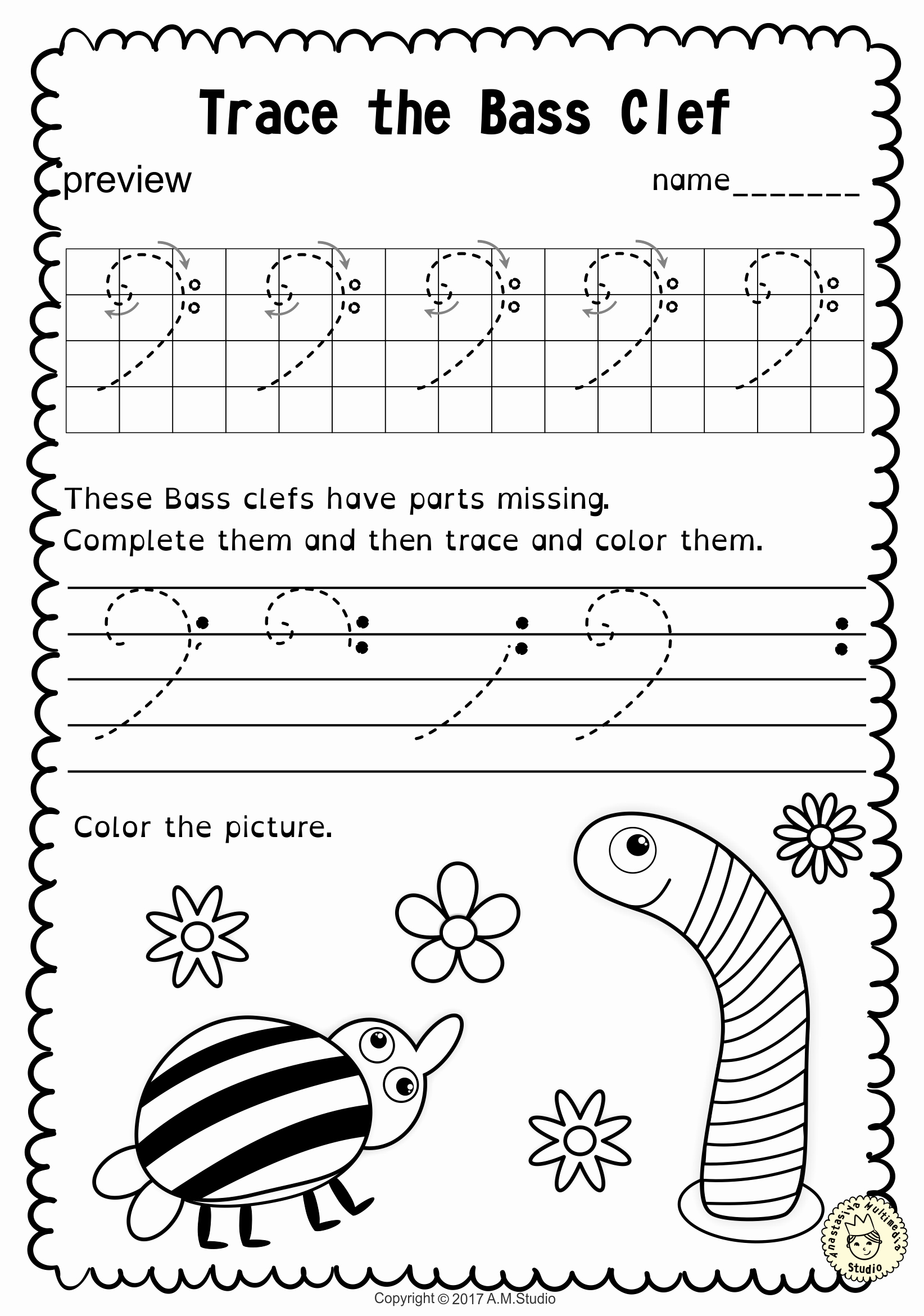 Music theory Worksheet for Kids New Pin by Татьяна On Tracing Music Notes Worksheets
