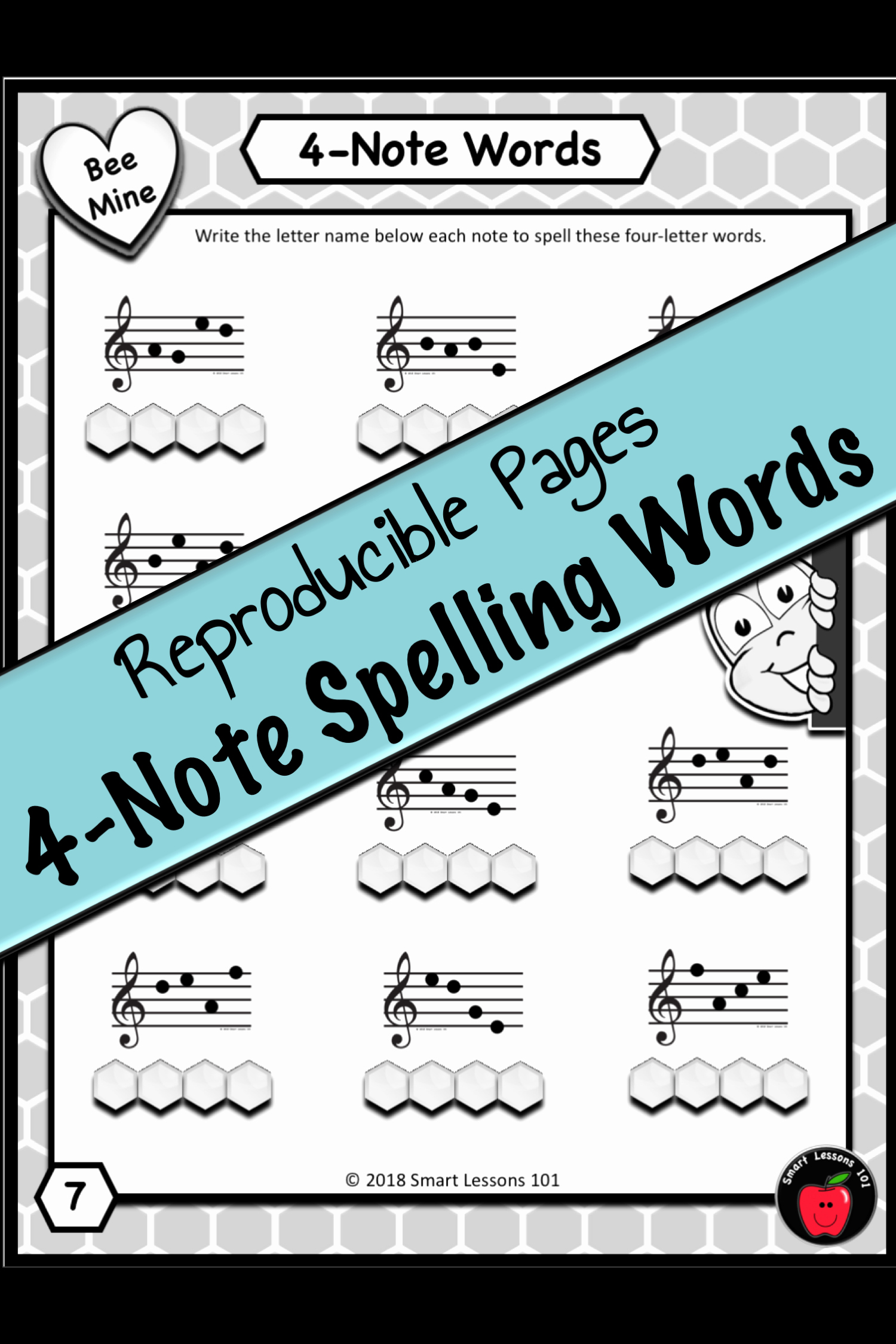 Note Speller Worksheets Beautiful Valentines Day Music Bundle Note Name Music Worksheets