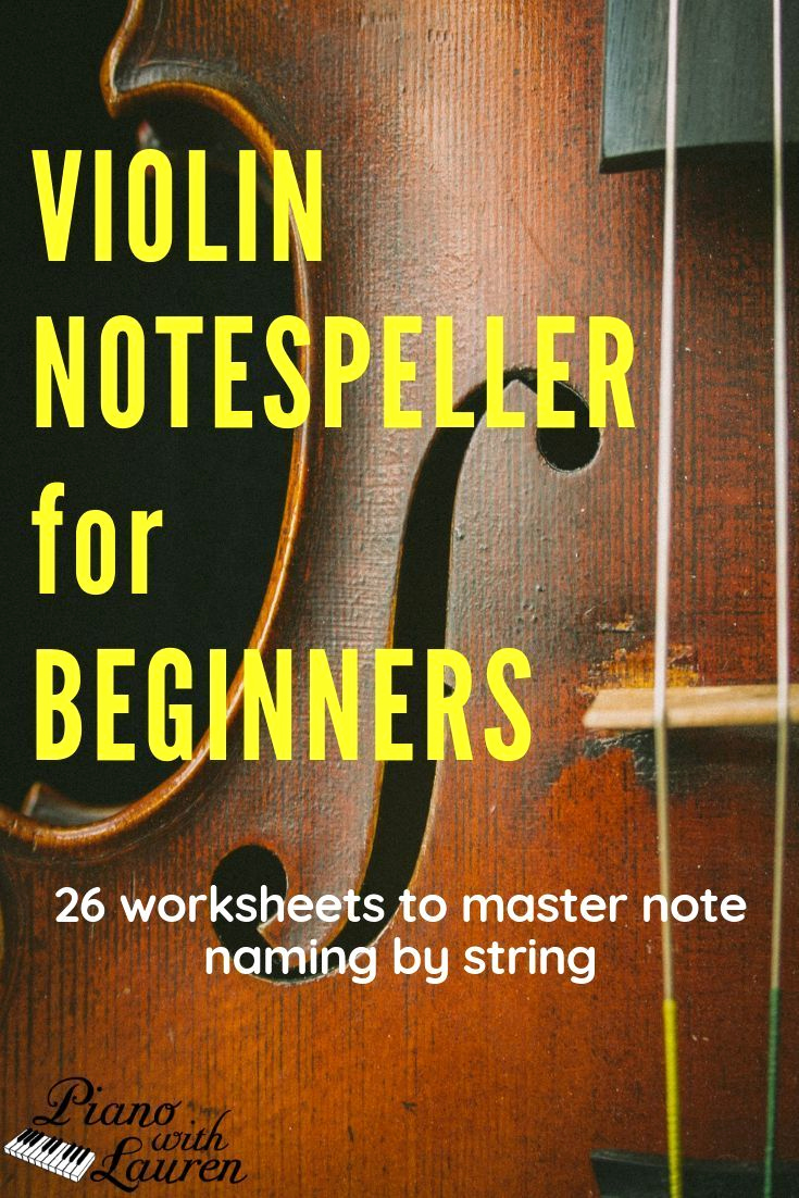 Note Speller Worksheets Unique Violin Note Speller Level 1 Pdf Download