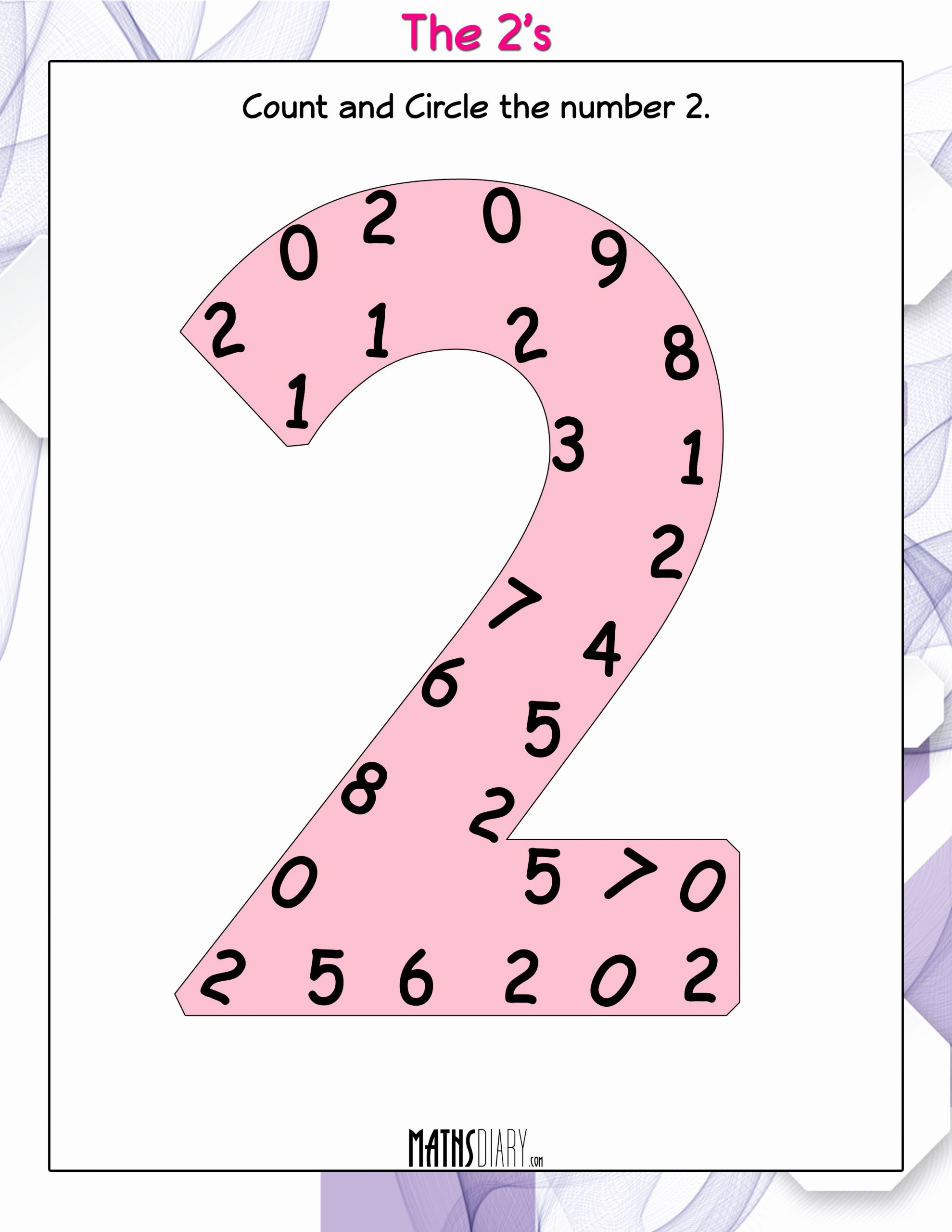 Number 2 Worksheets for Preschool Awesome Mental Maths – Ukg Math Worksheets Page 2