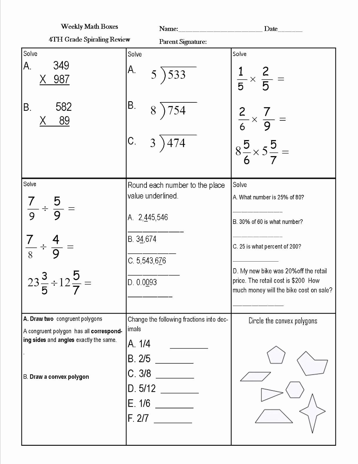 Nwea Math Practice Worksheets Awesome 20 Nwea Math Practice Worksheets