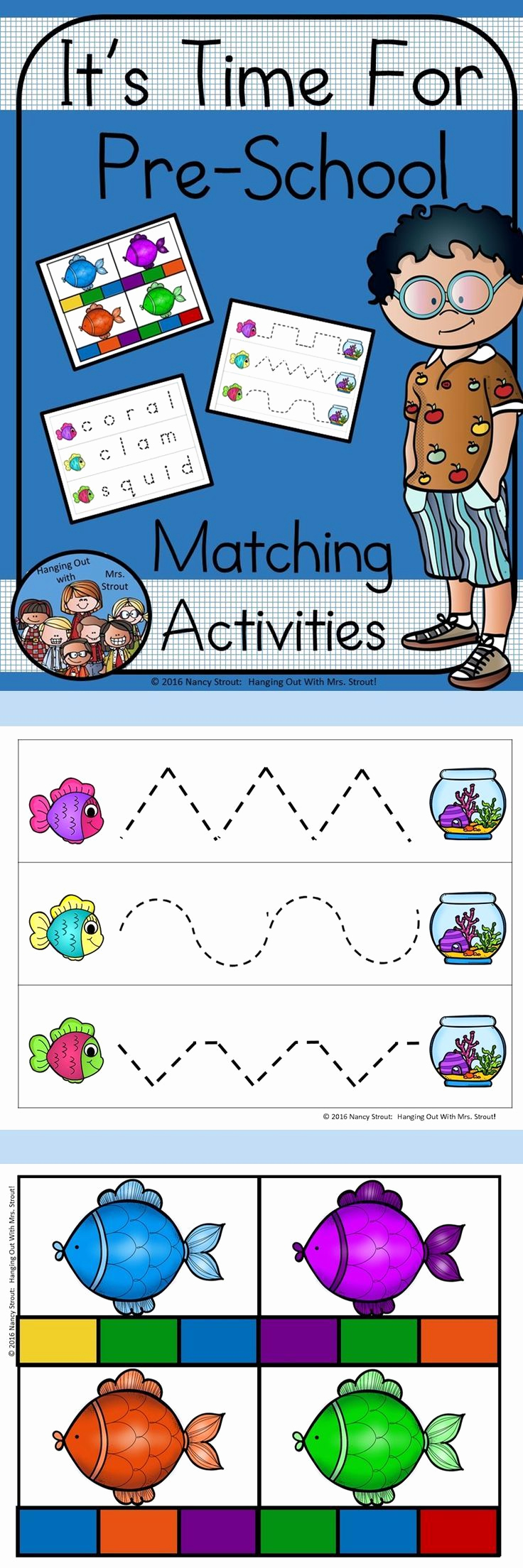 Ocean Worksheets for Preschool Inspirational Preschool Ocean Matching Activities