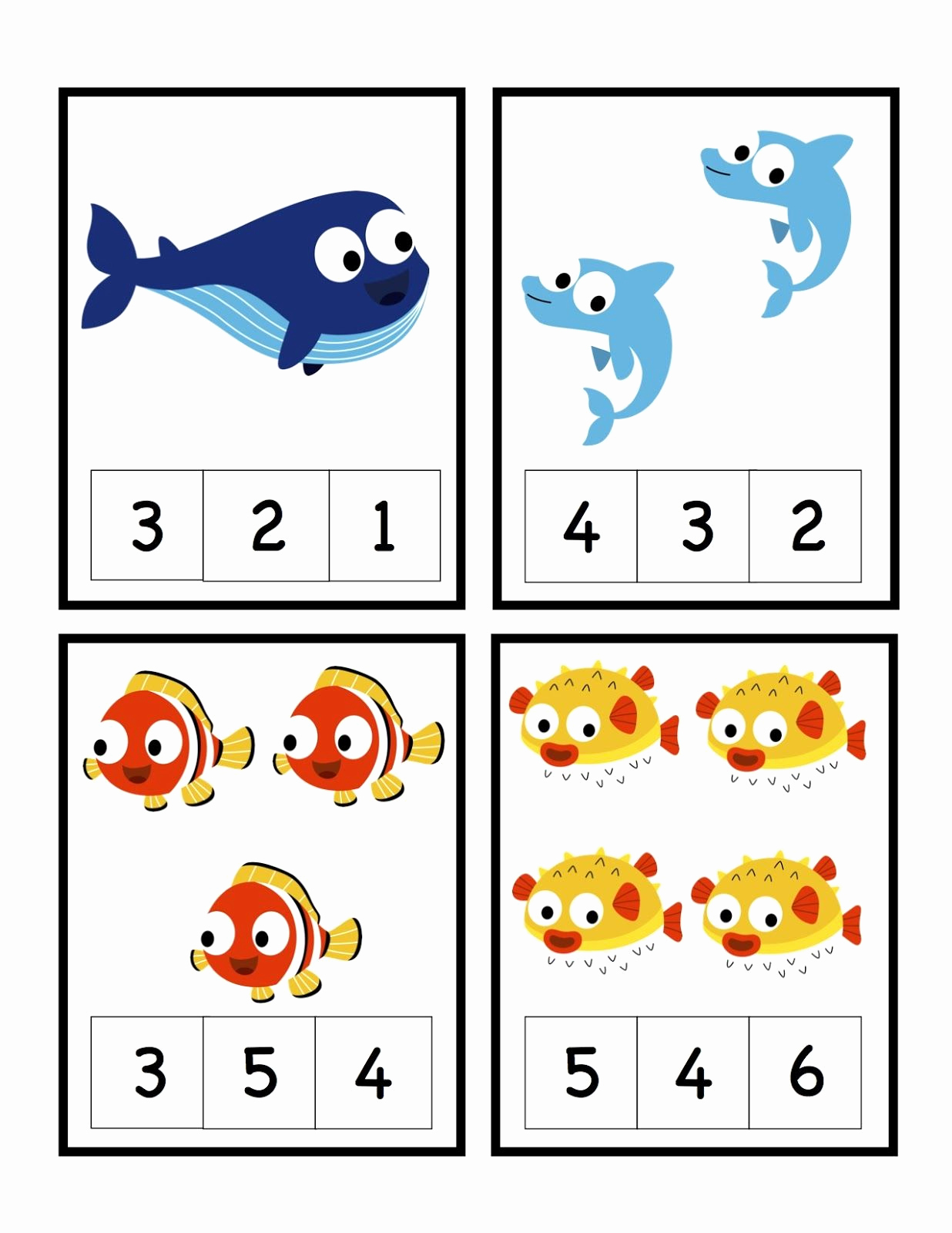 Ocean Worksheets for Preschool New Preschool Printables Ocean