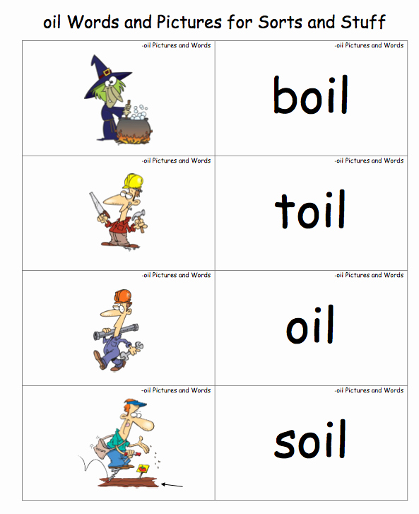 Oi Words Worksheet Lovely Oy and Oi Phonics Games and Worksheets