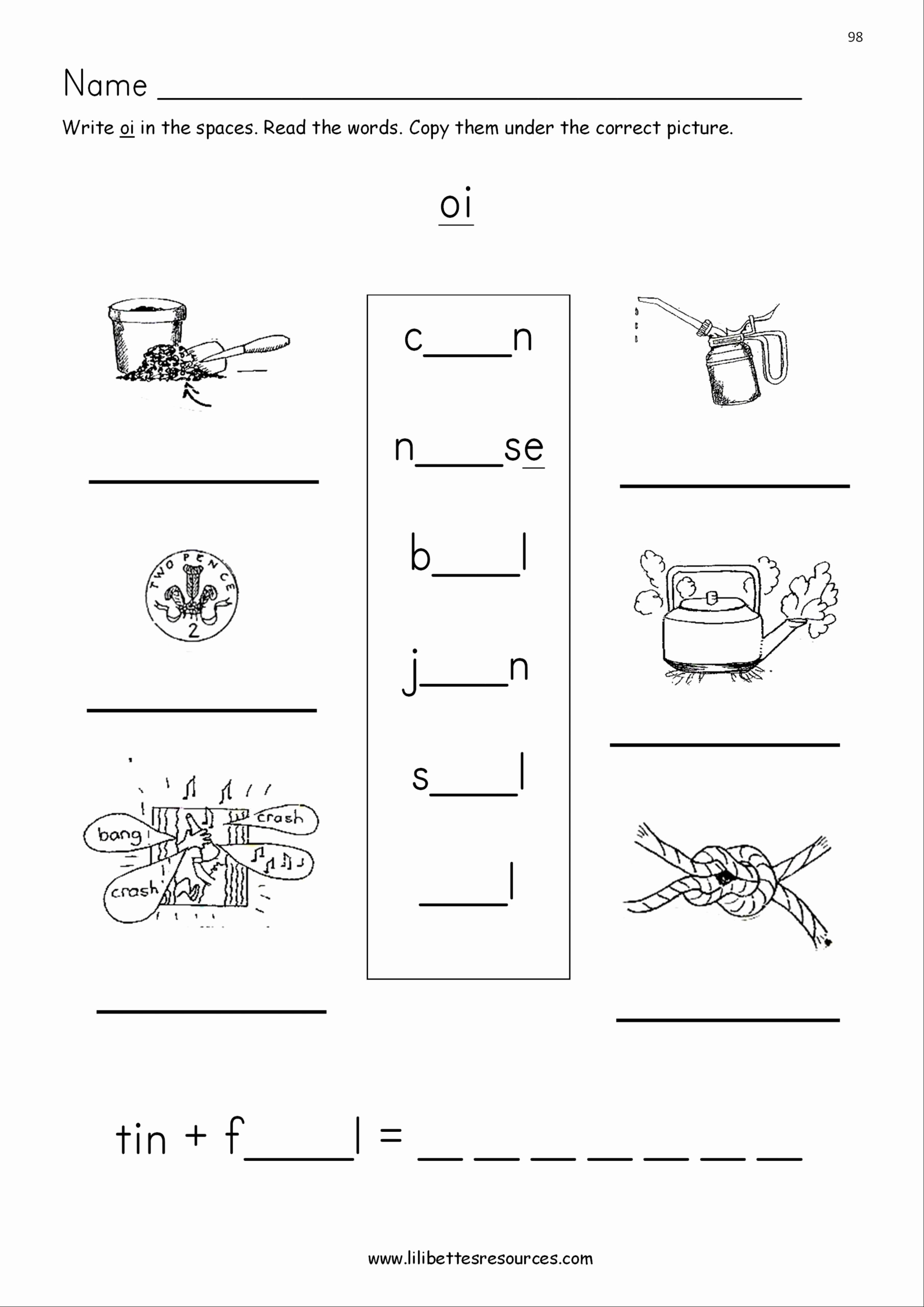 Oi Words Worksheet Unique 20 Oi Words Worksheet
