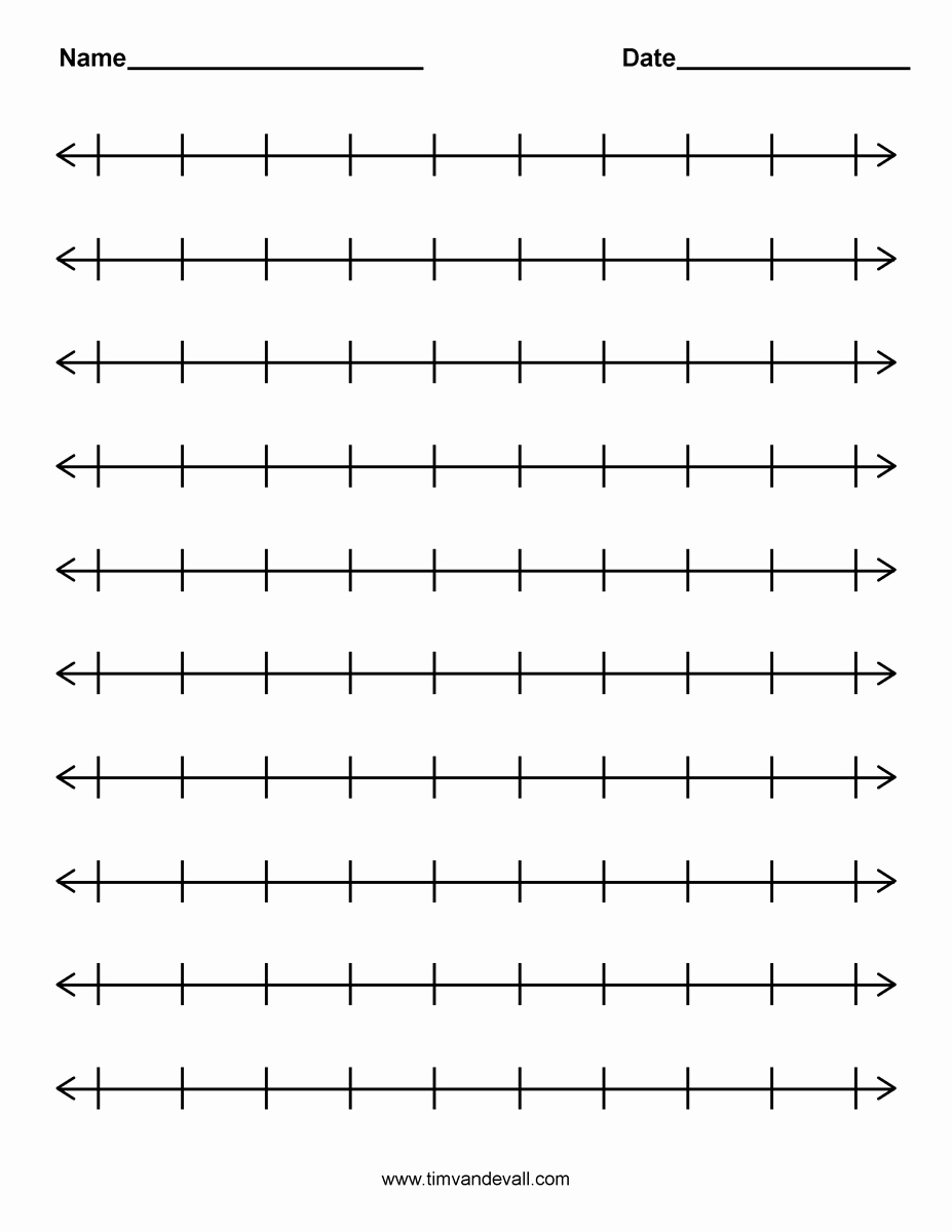 Open Number Line Worksheets Elegant Open Number Line Addition Worksheets