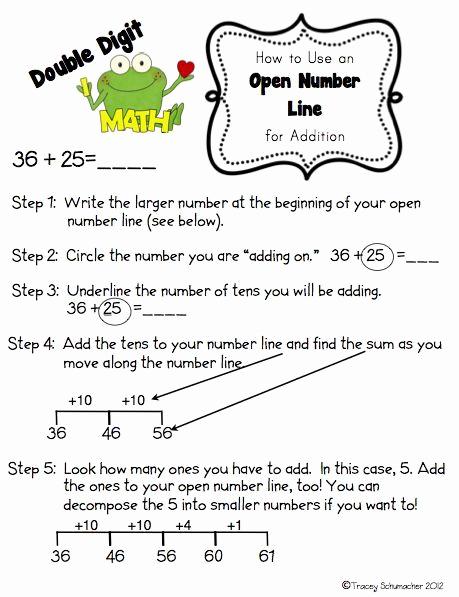 Open Number Line Worksheets Fresh Image Result for Grade 2 Open Number Line Worksheet