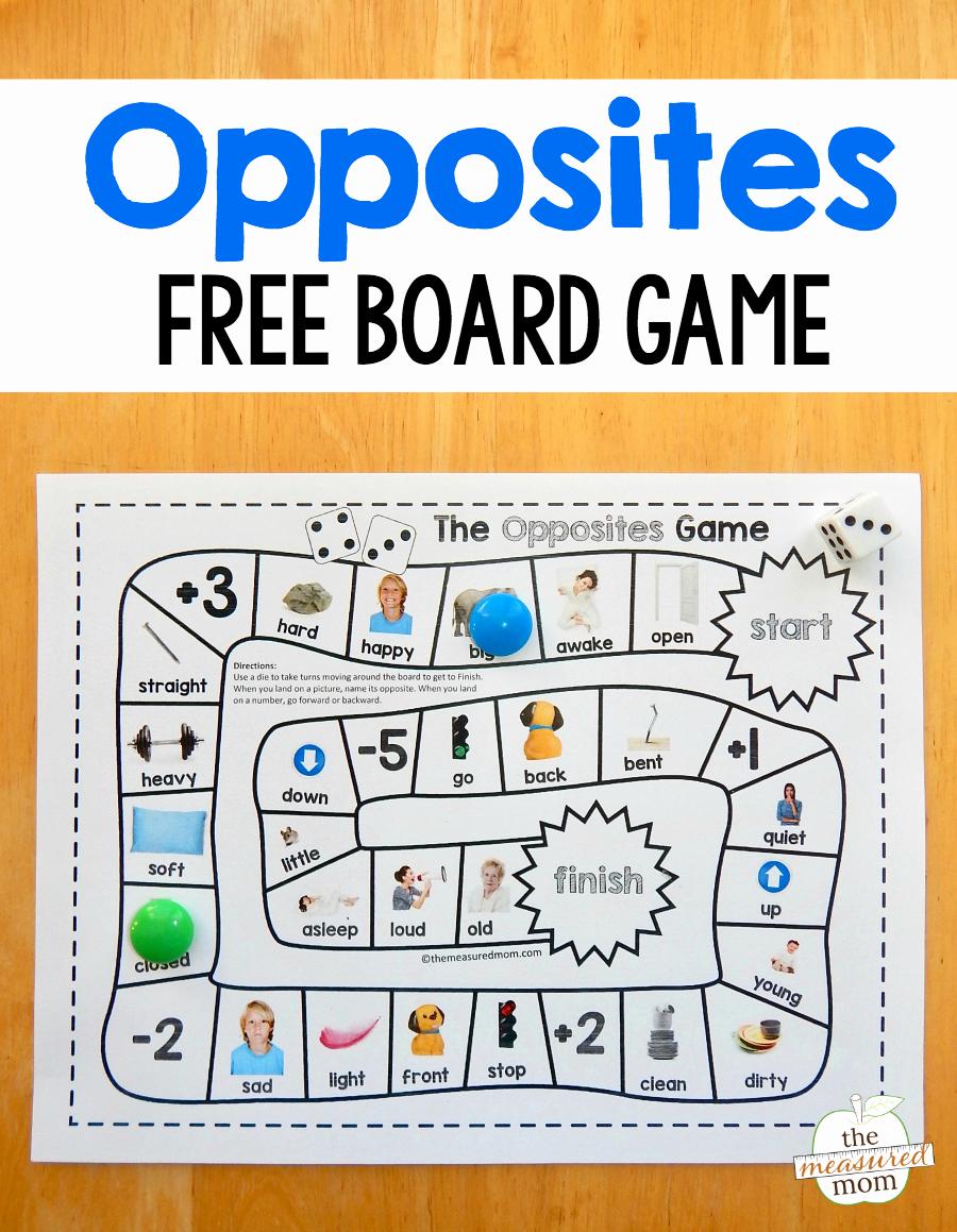 Opposites Preschool Worksheets Beautiful Grab This Fun and Free Opposites Game for Preschool Just