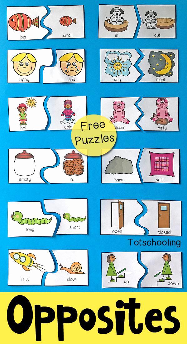 Opposites Preschool Worksheets Elegant Preschool Worksheets Opposites – Preschool Printable