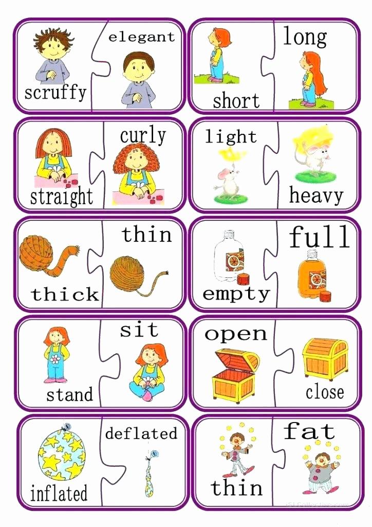 Opposites Preschool Worksheets New Opposites Preschool Worksheets