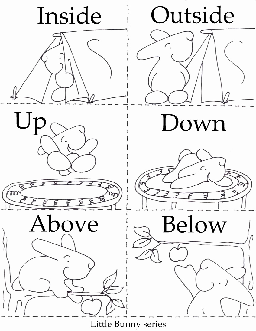 Opposites Worksheet for Preschool Elegant Preschool Opposites