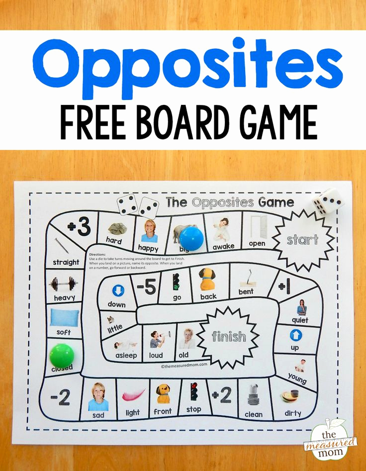 Opposites Worksheet for Preschool Inspirational Grab This Fun and Free Opposites Game for Preschool Just