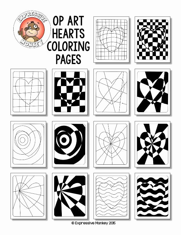 Optical Illusion Worksheets Printable Fresh Optical Illusion Worksheets Printable Middle School