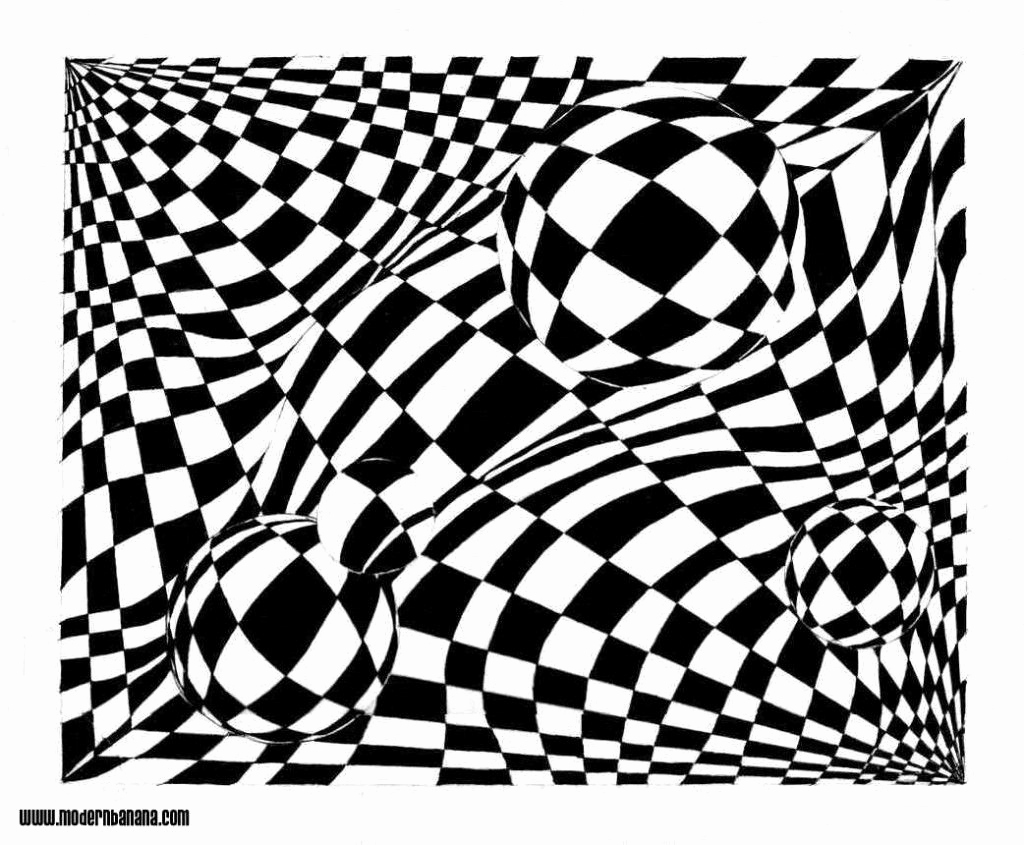 Optical Illusion Worksheets Printable Inspirational Optical Illusion Coloring Pages Free