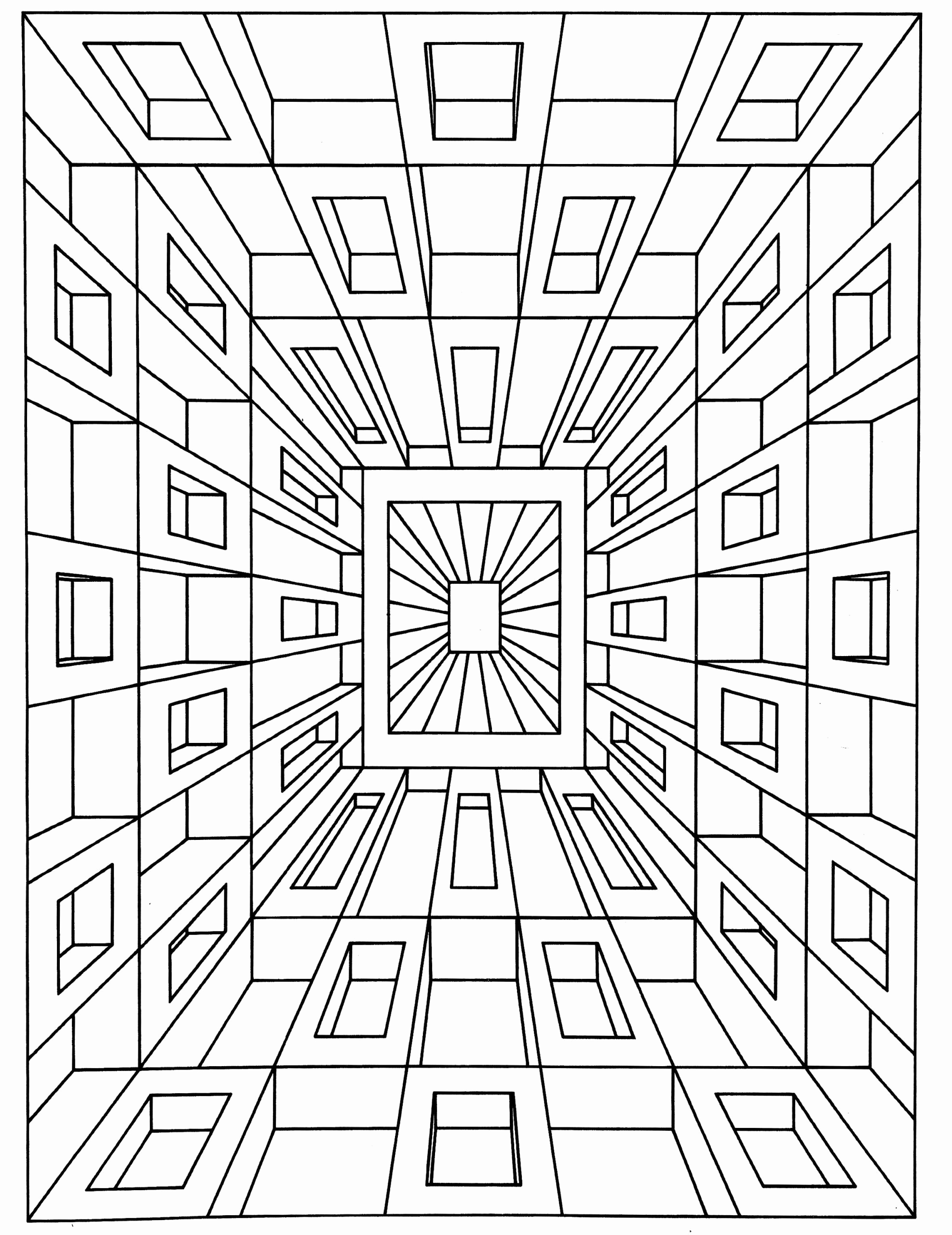 Optical Illusion Worksheets Printable Lovely 20 Optical Illusion Worksheets Printable