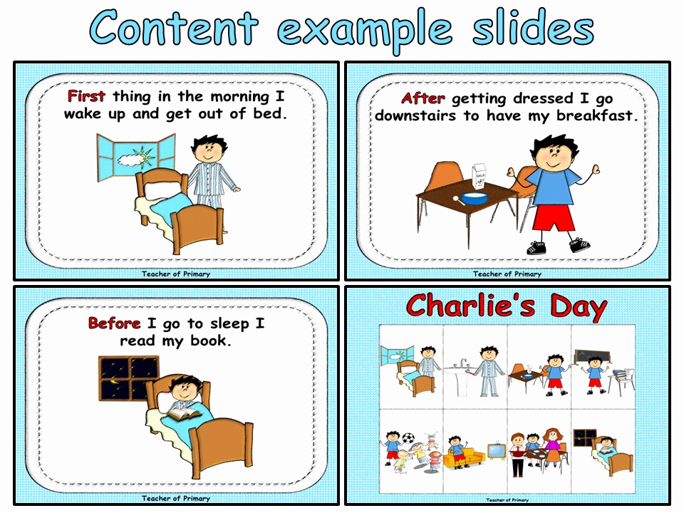 Order Of events Worksheets Best Of Sequencing events Charlie S Day