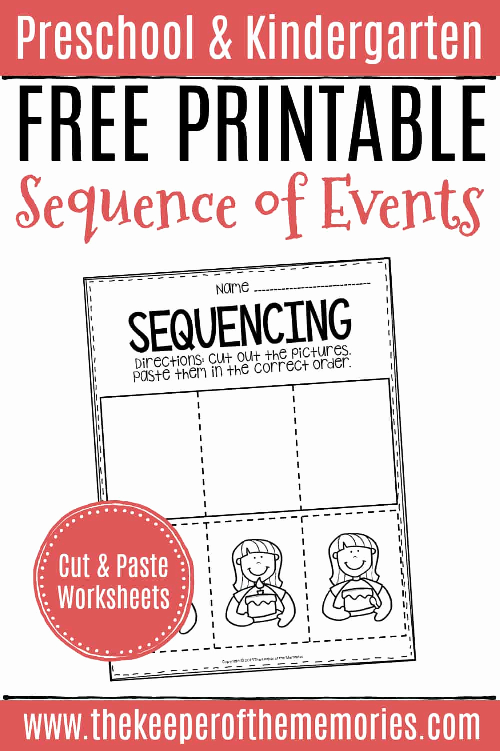 Order Of events Worksheets Lovely Free Printable Sequence Of events Preschool Worksheets