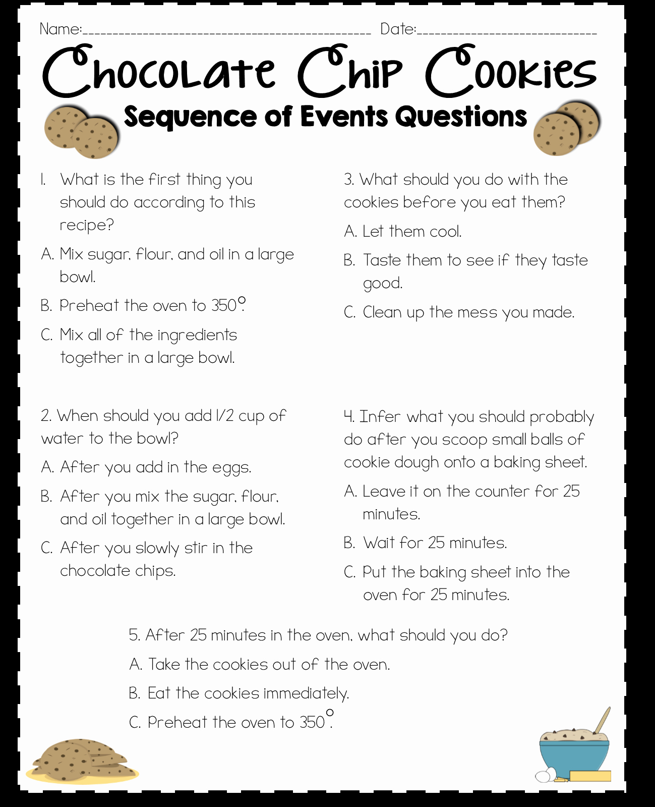 Order Of events Worksheets Unique Read Like A Rock Star Sequence Of events Activity