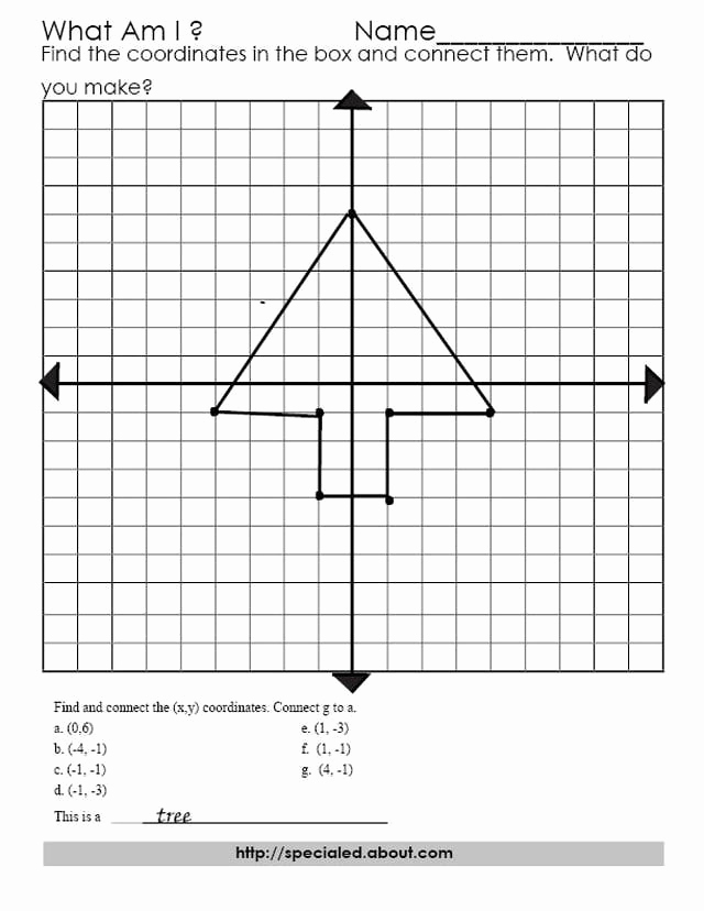 Ordered Pairs Worksheets Beautiful 10 Best Of Math ordered Pairs Worksheet Graphing