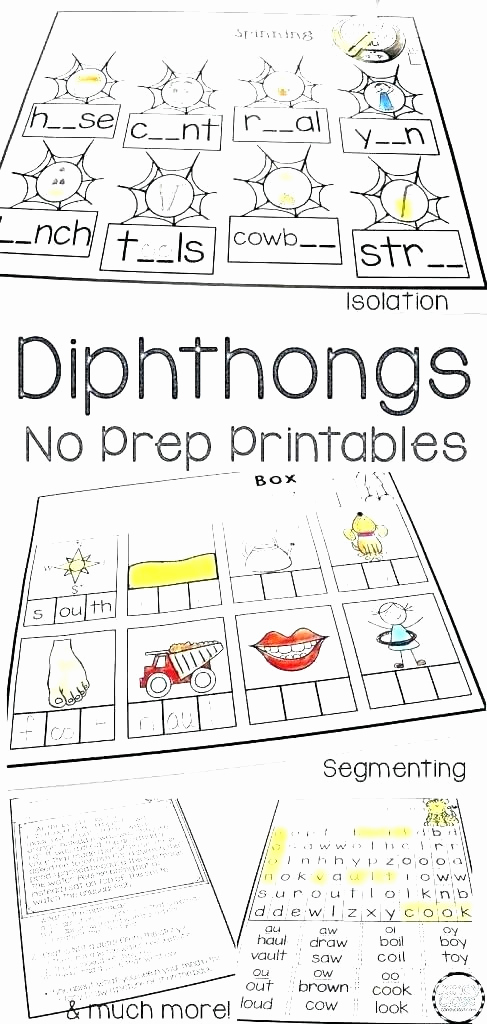 Ou Ow Worksheets 2nd Grade Fresh 25 Diphthong Oi Oy Worksheets